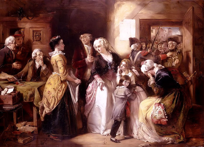Arrest of Louis XVI and His Family Varennes, 1791
