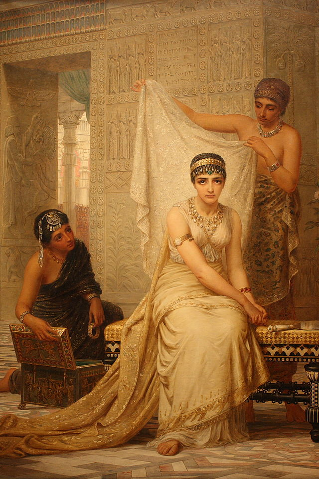 Queen Esther by Edwin Long