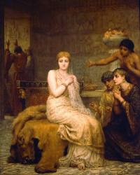 Vashti Refuses the King's Summons, painting by Edwin Long
