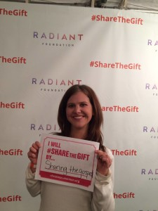 In the VIP tent--or another chance to meet some stars. Plus, #ShareTheGift.