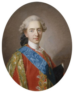 "Dauphin Louis Auguste in 1769. A year later, he would marry ""the Austrian."" He would associate that stigma with her the first part of their marriage."
